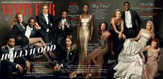 "Vanity Fair just released the cover of its annual Hollywood Issue, and there is something refreshingly different about this year's installment. | The 2014 ""Vanity Fair"" Hollywood Issue Has A Record Six People Of Color On The Cover"