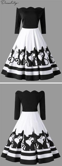 Shop womens Plus Size Dresses cheap sale online.Dresslily offers the high qualit… Summer Trend – Summer 2019 Cheap Maxi Dresses, Cute Dresses, Vintage Dresses, Beautiful Dresses, Summer Dresses, Women's Fashion Dresses, Dress Outfits, Dress Up, Chiffon Maxi Dress