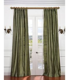 Compare Performance Specifications Features And Pricing For Half Price Drapes Restful Green Textured Dupioni Silk Curtain Shop Now In USA Get Expert Advice