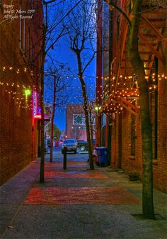 A short downtown Spokane, Washington alley.  East of Howard Street, and just south of the Steelhead Bar and Grill.