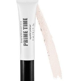 Sometimes when you wear your eyeshadow, they fade fast or start to crease. This is mostly caused by oily eyelids, sun exposure, sweat and itchy eyes. Best Eyeshadow Primer, Eye Primer, Itchy Eyes, Prime Time, Primers, Bareminerals, Top, Primer