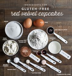 Food Lover Friday: Gluten-Free Red Velvet Cupcakes and Cream Cheese Frosting