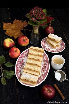PRAJITURA FRAGEDA CU MERE DE POST | Diva in bucatarie Apple Pie, Allrecipes, Cake Decorating, French Toast, Sweets, Cheese, Cookies, Breakfast, Desserts