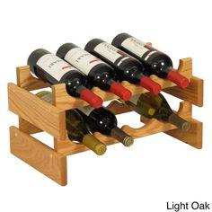 Pine Canopy Arapaho 8-bottle Stackable Wood Dakota Wine Rack