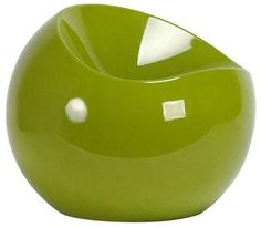 Pouf Ball chair - vert pomme www.amateurdedesign.com   Pouf ...