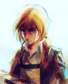 I think my inspiration is back and I can draw things again AND I AM SO HAPPYYYYYYY *A* Maybe drawing Armin has healing abilities, who knows..