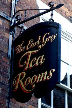 The Earl Grey Tea Rooms, The Shambles, York, England