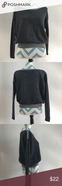Joie 100% Merino Wool Striped Sweater, Small Garment Details: -Pre-owned with minor flaws -Boat neckline -100% Merino Wool -Hand Wash Cold With Like Colors; Do not Bleach; Lay Flat to Dry or Dry Clean -Imported Joie Sweaters