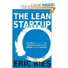 ScentTrail Holiday Gifts For Internet Marketers : The Lean Startup: How Today's Entrepreneurs Use Continuous Innovation to Create Radically Successful Businesses by Ries