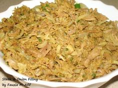 This yummy filling can be used in buns/sandwiches/rolls. I love using this filling in my 'Steak and Onion Foldovers' Steak Recipes, Chicken Recipes, Cooking Recipes, Ramzan Special Recipes, Steak And Onions, Onion Pie, Rump Steak, Samosa Recipe, Indian Food Recipes