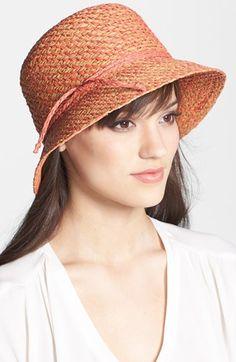 Flora Bella 'Emma' Raffia Hat available at #Nordstrom