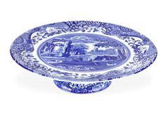 ✿ڿڰۣ(̆̃̃•Aussiegirl   Blue Willow serving plate