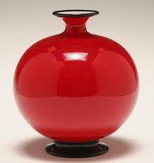 Vintage Art Deco Murano Glass Vase. @designerwallace