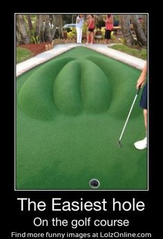 Easiest hole on the golf course