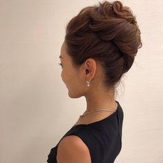 Bun Hairstyles, Wedding Hairstyles, Up Styles, Hair Styles, Hair Arrange, Hair Setting, Love Hair, Silver Hair, Hair Dos