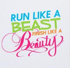 Womens Everyday Runners Tee Run Like A Beast Monogram T Shirts, Personalized Shirts, Beauty Slogans, Cross County, Running Everyday, Love Run, Gym Quote, Running Quotes, Run Disney