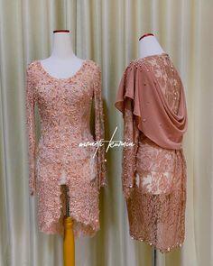 Kebaya Hijab, Kebaya Dress, Dress Pesta, Kebaya Brokat, Dress Brokat Modern, Brides Mom Dress, Model Kebaya Modern, Asian Wedding Dress, Wedding Dresses