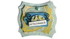 Love Wedding Perfect Match Scrapbook Embellishment by itsmemanon, $2.00