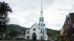 Colombian Places. Church. Town. Trujillo, Valle del Cauca.
