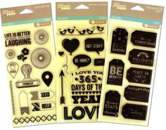 Check out the awesome deals today on Peachy Cheap--$8.99 for all 3 stamp sets!!!