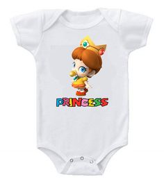 Cute Funny Humor Custom Baby Bodysuits Mario Brothers Baby Princess Daisy     #Baby     #Fashion     #Clothing     #KidsFashion     #Style     #Babies     #Clothes     #Kids     #Newborn     #Cute      #Sale     #OOTD     #KidsClothes     #Dress     #BabyShower     #Kidsclothing     #BabyGifts     #BabyClothing     #Summer     #BabyGirls