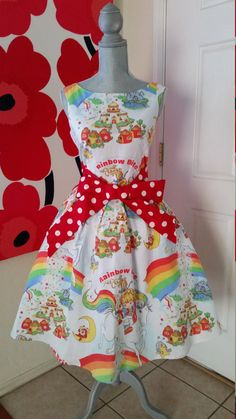 Custom Made to Order Rainbow Brite party by AkabiSelectboutique