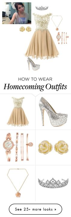 """""""Princesa"""" by jaky-16 on Polyvore featuring Nly Shoes, Jon Richard, NOVICA, Anne Klein and Effy Jewelry"""