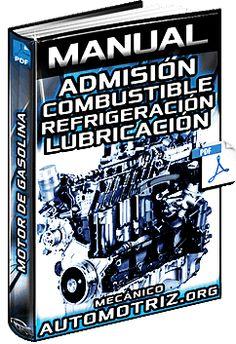 Descargar Manual Completo de Motor de Gasolina - Admisión, Combustible, Refrigeración, Lubricación y Escape - Funcionamiento, Componentes, Inyectores y Estructura.