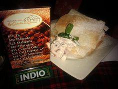 """Deleita tu paladar #sabores únicos. #Cocina Mar y Tierra """"La #Cabaña de Quirino"""" #Atotonilco El Grande #Gastronomía"""