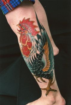 rooster #tattoo | i love roosters | Pinterest