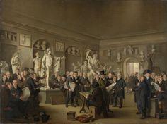 Adriaan de Lelie | 1806-1809 | The Sculpture Gallery of the Felix Meritis Society