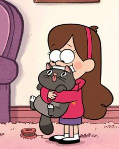 Cartoons- Mabel Pines - Gravity Falls