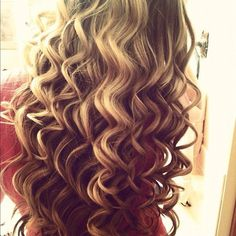 Thermal curls, wand used.