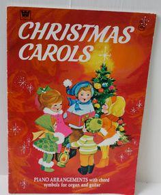 Vintage 1960's Christmas Carol Piano Songbook