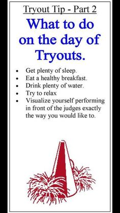 how to prepare for cheer tryouts & prepare for cheer tryouts ; how to prepare for cheer tryouts ; how to prepare for cheer tryouts tips ; how to prepare for high school cheer tryouts ; ways to prepare for cheer tryouts Cheerleading Tryouts, High School Cheerleading, College Cheer, Cheer Coaches, Cheer Stunts, Cheer Dance, Cheerleading Quotes, Volleyball Tips, Workouts For Cheerleaders