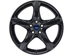 """Ford C-Max - Cerchi in lega 18"""" a 5 razze, nero"""
