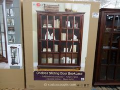 Chelsea Sliding Door Bookcase Google Search