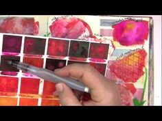 Art Lessons With Jane Davenport Vol. 8: Tactile and Textured Mediums - YouTube