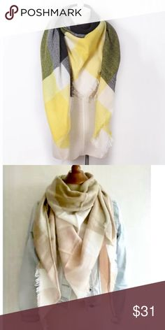 Special Price Today ‼️Soft ^^^ Scarf Really soft to the touch and warm. Nice colors! 🌦🌥⛅️ as seen in pictures! From top to bottom  1-4 Sweaters Shrugs & Ponchos
