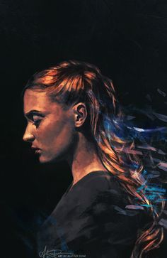 Awesome Sansa Stark Painting by alicexz Amethyst. Painting I did for sansastark's birthday…! - alicexz