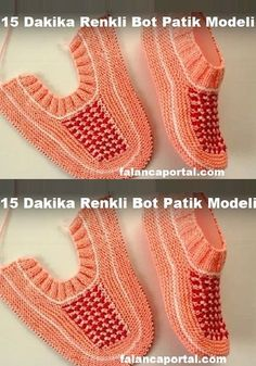 15 Dakikada Renkli Bot Patik Modeli – Crochet and Knitting Patterns – Knitting Ideas Lace Knitting, Knitting Socks, Knitting Patterns Free, Crochet Patterns, Knitting Ideas, Free Pattern, Crochet Bolero Pattern, Crochet Ripple, Knit Crochet