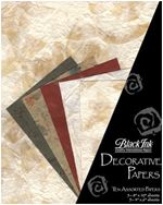 Naturals - These assorted paper packs from Thailand feature great color combinations, perfect for paper crafting, card making, book arts, collage and mo...