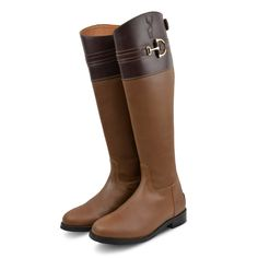 New and exclusive to Derby House, the Kinpurnie Kinross Long Boots are extremely fashionable and stylish and can be worn with breeches or jeans to complete the look.  With beautiful bit detailing and subtle Kinpurnie branding they are bound to turn heads wherever they are worn.