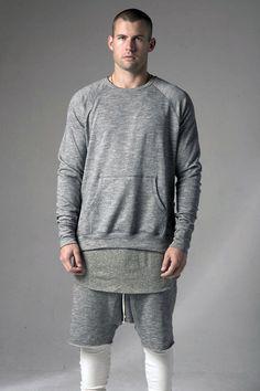 Fear of God | Los Angeles - Muscle Crew Neck Sweatshirt