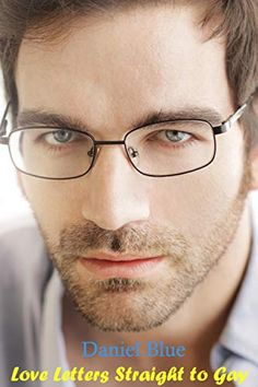 99492e62446 Close-up of young handsome man wearing fashion eyeglasses - stock photo