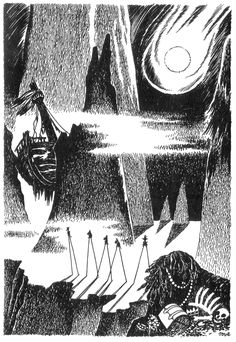Favourite Moomin illustrations by Tove Jansson - The Comet