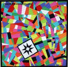 modern art quilt