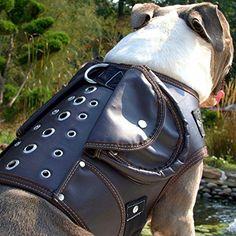 Leather Dog Walking Coat Jacket Vest Anti Pull Harness (Dark Brown) K9 Exclusive http://www.amazon.com/dp/B015MA0DC2/ref=cm_sw_r_pi_dp_BOzgwb0DKR9CY