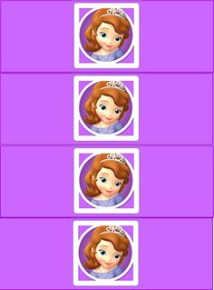Sofia the First Birthday Party: Free Printable Mini Kit. Sofia The First Birthday Party, Sofia Party, Tangled Party, Tinkerbell Party, Toy Story Birthday, Toy Story Party, Princess Birthday, Princesa Sophia, Doc Mcstuffins Birthday Party
