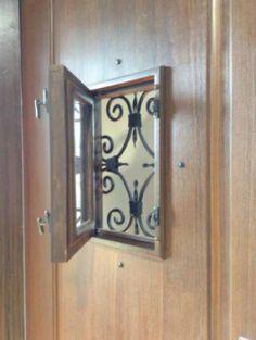 Speakeasy Door & Vintage Speakeasy Door Viewer metal could be Brass   Pinterest ...